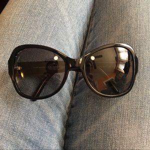 Tory Burch TY 7077 tortoise butterfly sunglasses
